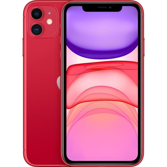 SMARTPHONE APPLE iPhone 11 (PRODUCT)Red 64 Go