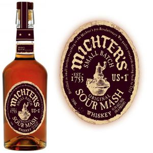 WHISKY BOURBON SCOTCH MICHTER'S US*1 Sour Mash 43° 70cl