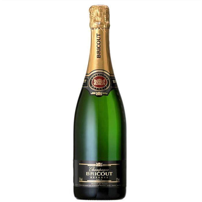 CHAMPAGNE Champagne Bricout Réserve Brut - 75 cl