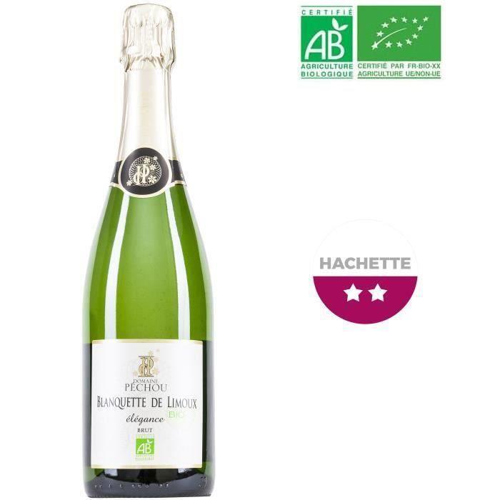 PÉTILLANT & MOUSSEUX Domaine Péchou Blanquette de Limoux - Vin pétillan