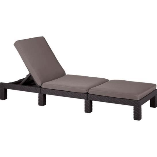 bain de soleil daytona chocolat achat vente chaise longue bain de soleil daytona cdiscount. Black Bedroom Furniture Sets. Home Design Ideas