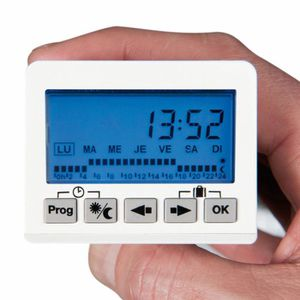 THERMOSTAT D'AMBIANCE AIRELEC ECOBOX 3 FP FIL PILOTE 5 TOUCHES