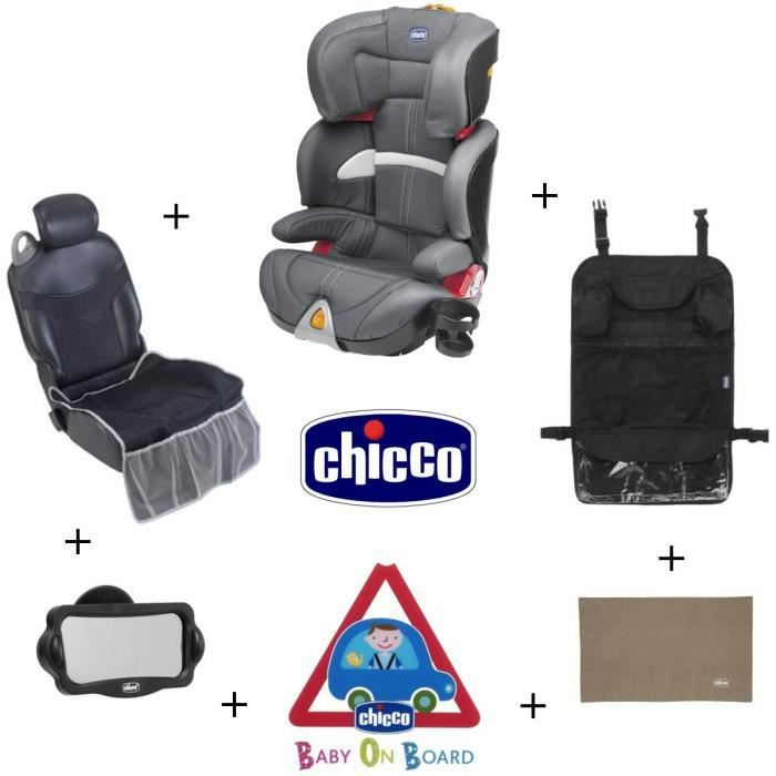 chicco si ge auto oasys grey groupe 2 3 kit 4 accessoires voiture achat vente si ge auto. Black Bedroom Furniture Sets. Home Design Ideas