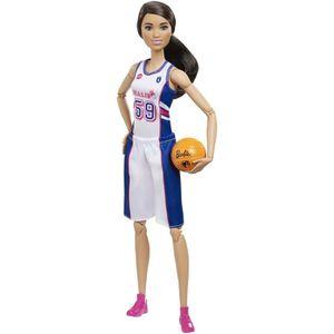 POUPÉE Barbie - Joueuse de Basket - Poupée Mannequin - 3