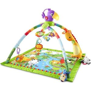 TAPIS ÉVEIL - AIRE BÉBÉ FISHER-PRICE  Tapis de la Jungle Musical et Lumine