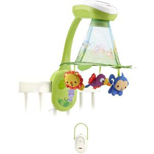 MOBILE FISHER-PRICE - Mobile Feuilles Magiques Jungle