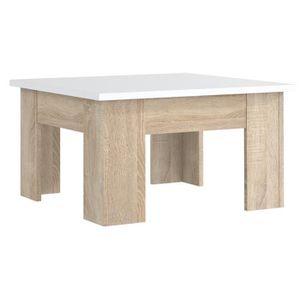 TABLE BASSE FINLANDEK Table basse carrée PILVI style contempor