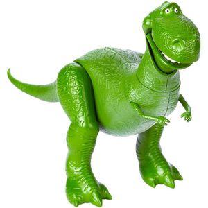 FIGURINE - PERSONNAGE TOY STORY 4 - Rex - Figurine Articulée 18cm - vers