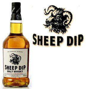 WHISKY BOURBON SCOTCH Sheep Dip  original  Oldbury 70cl