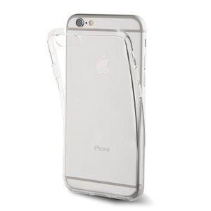 COQUE - BUMPER Muvit Coque Crystal Soft Transparente souple Apple