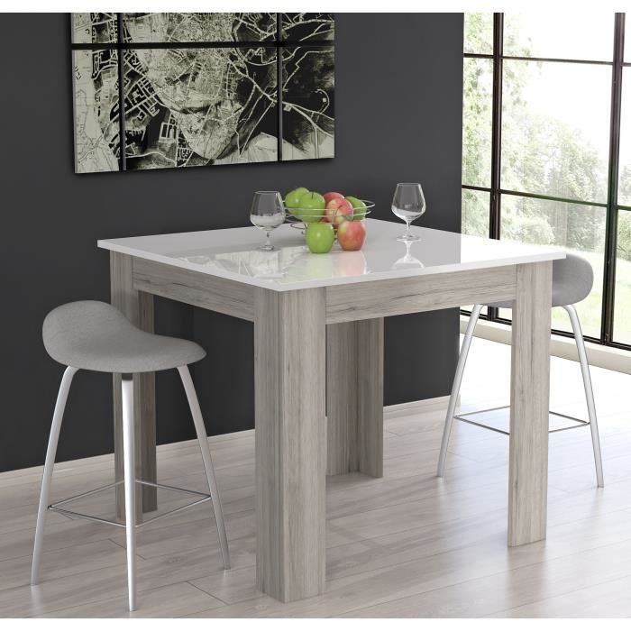 finlandek table bar carr e tietti 4 personnes 110x110 cm. Black Bedroom Furniture Sets. Home Design Ideas