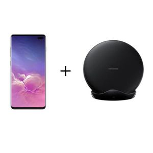 SMARTPHONE Samsung Galaxy S10+ 128 Go Noir Prisme + PAD induc