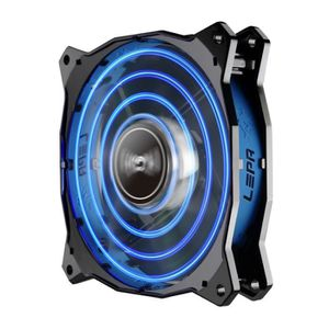 VENTILATION  LEPA Ventilateur CHOPPER ADVANCE - Bleu - 12cm