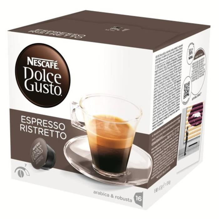 16 capsules dolce gusto achat vente 16 capsules dolce gusto pas cher cdiscount. Black Bedroom Furniture Sets. Home Design Ideas