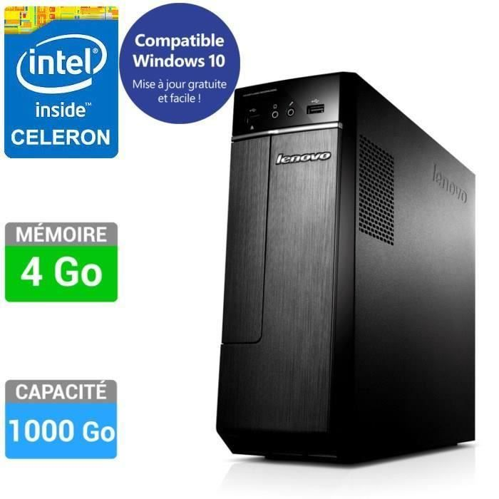 destockage lenovo pc de bureau h30 00 90c2004kfr unit centrale au meilleur prix cdiscount. Black Bedroom Furniture Sets. Home Design Ideas