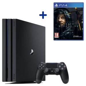 CONSOLE PS4 PS4 Pro 1 To Noire + Death Stranding