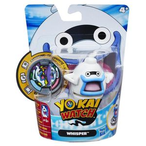 FIGURINE - PERSONNAGE YO-KAI Porte-Medaille Whisper (Figurine + Medaille
