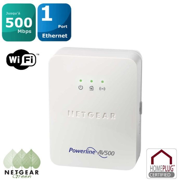 netgear cpl 500mbps wifi achat vente courant porteur cpl netgear cpl 500mbps wifi cdiscount. Black Bedroom Furniture Sets. Home Design Ideas