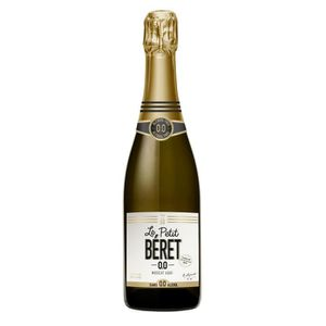 Apéritif à base de vin LE PETIT BERET Moscat d'Aqui Pétillant Boisson san