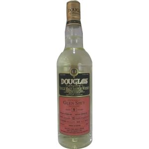 WHISKY BOURBON SCOTCH Whisky Épicé GLEN SPEY 9 ans d'âge - 70 cl - 46 °