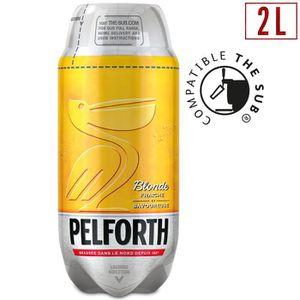 BIÈRE PELFORTH Bière blonde fraîche et savoureuse - 2 L