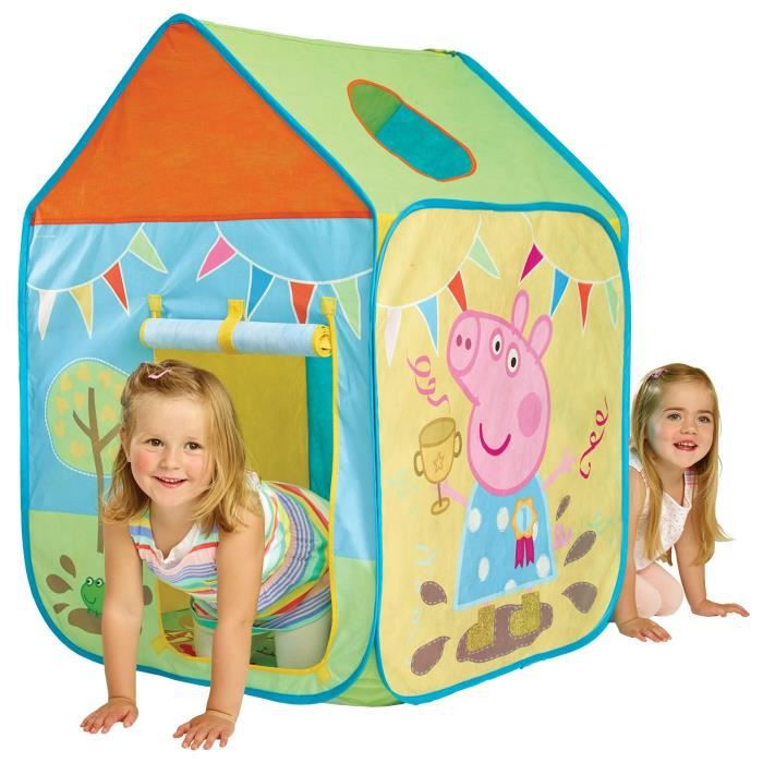 peppa pig cabane enfant en tissu getgo achat vente tente tunnel d 39 activit cdiscount. Black Bedroom Furniture Sets. Home Design Ideas