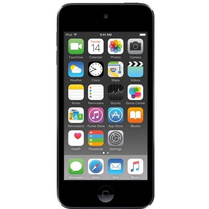 new apple ipod touch 16go space gray lecteur mp4 avis. Black Bedroom Furniture Sets. Home Design Ideas