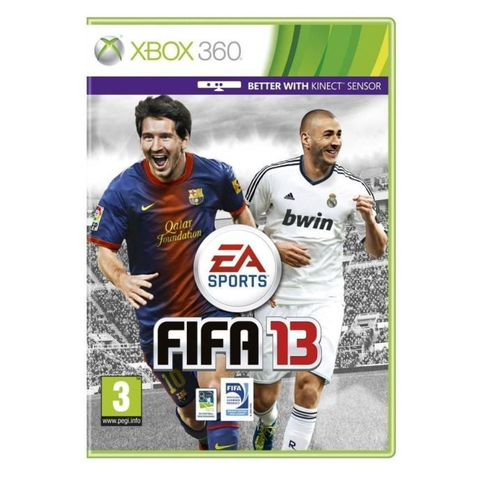 fifa 13 jeu console xbox 360 achat vente fifa 13. Black Bedroom Furniture Sets. Home Design Ideas