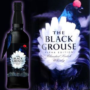 WHISKY BOURBON SCOTCH Famous Grouse Black Grouse Alpha Edition