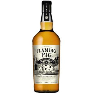 WHISKY BOURBON SCOTCH Flaming Pig - Irish Whiskey - 40% - 70 cl