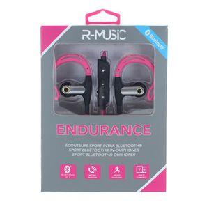 CASQUE - ÉCOUTEURS R-MUSIC Ecouteurs intra-auriculaires Bluetooth - M