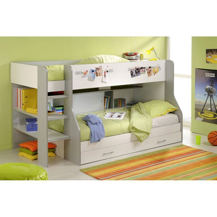 scorpio lit enfant combin achat vente lit combine cdiscount. Black Bedroom Furniture Sets. Home Design Ideas