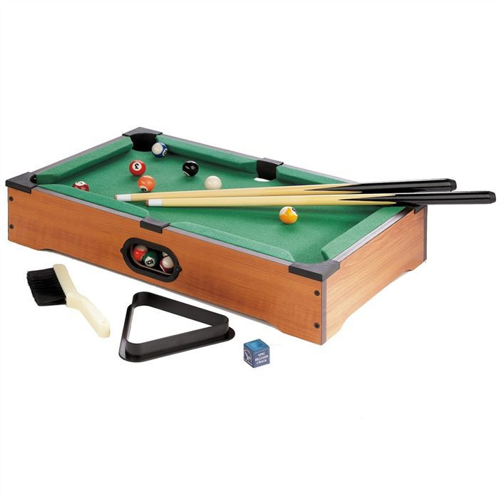 jeu de billard de table achat vente billard soldes cdiscount. Black Bedroom Furniture Sets. Home Design Ideas