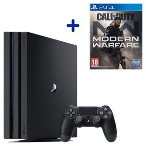 CONSOLE PS4 PS4 Pro 1 To Noire + Call of Duty Modern Warfare