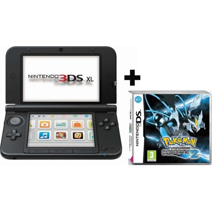 3ds xl pokemon for Ecran noir appareil photo 3ds
