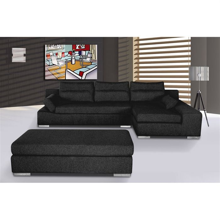 canap s tissu achat vente canap s tissu pas cher. Black Bedroom Furniture Sets. Home Design Ideas