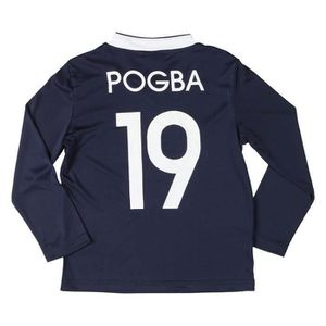 MAILLOT DE FOOTBALL FFF T-shirt Football Pogba Enfant Garçon