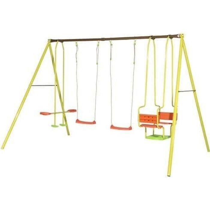 ☀ xxl hamac suspendue chaise suspendue fauteuil sans châssis balançoire de jardin NEUF