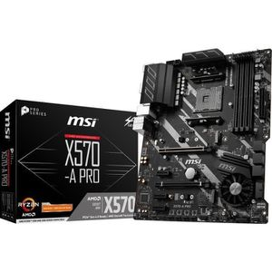 CARTE MÈRE MSI Carte mère X570-A PRO - AM4