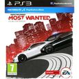 JEU PS3 Need For Speed Most Wanted Jeu PS3