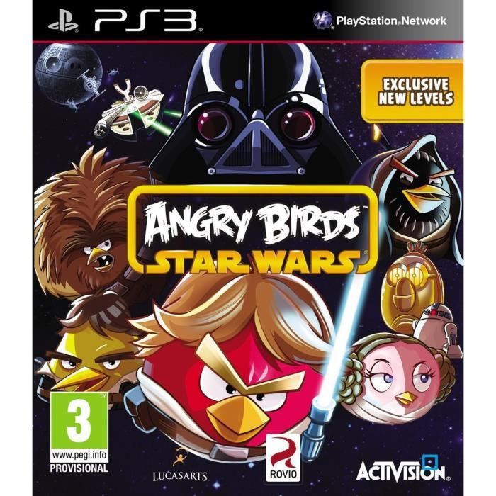 JEU PS3 ANGRY BIRDS STAR WARS / Jeu console PS3