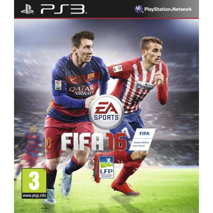 fifa 16 jeu ps3 achat vente jeu ps3 fifa 16 jeu ps3 cdiscount. Black Bedroom Furniture Sets. Home Design Ideas