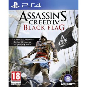 JEU PS4 Assassin's Creed 4 Black Flag Jeu PS4