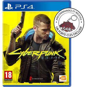 JEU PS4 NOUVEAUTÉ CYBERPUNK 2077 Edition Day One Jeu PS4 + Bonus de