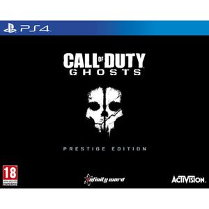 JEU PS4 Call Of Duty Ghosts Prestige Jeu PS4