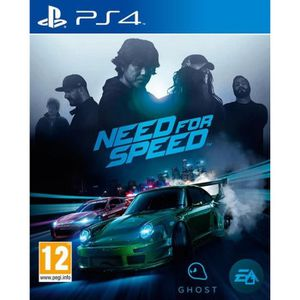 JEU PS4 Need For Speed Jeu PS4