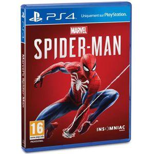 JEU PS4 Marvel's Spider-Man Jeu PS4