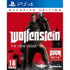 JEU PS4 Wolfenstein The New Order Jeu PS4