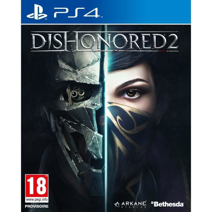dishonored 2 jeu ps4 achat vente jeu ps4 nouveaut dishonored 2 jeu ps4 cdiscount. Black Bedroom Furniture Sets. Home Design Ideas