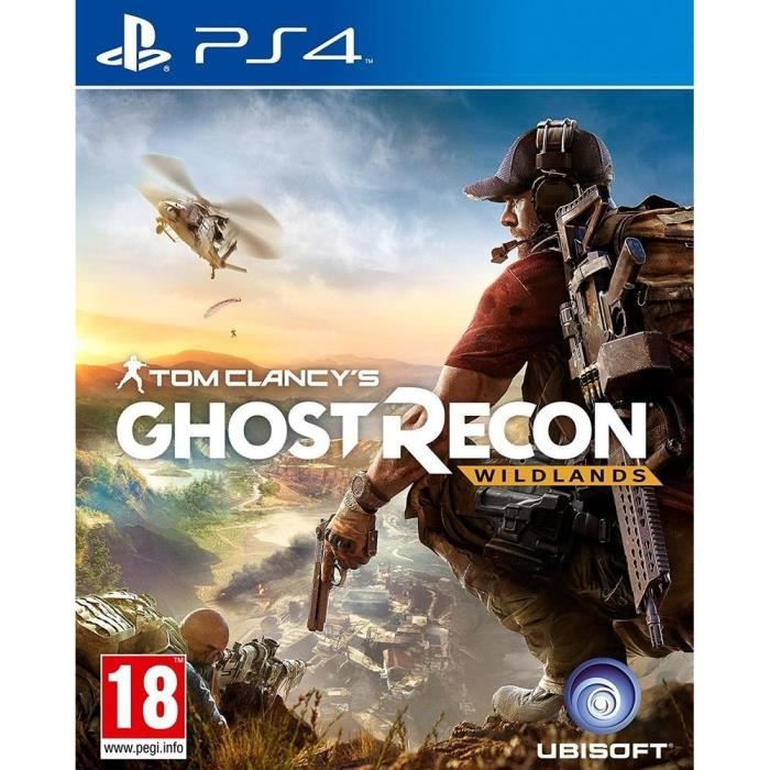ghost recon wildlands jeu ps4 achat vente jeu ps4 ghost recon wildlands ps4 cdiscount. Black Bedroom Furniture Sets. Home Design Ideas
